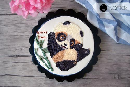 彩绘 蛋糕 美食 烘焙